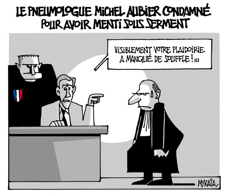 Le pneumologue Michel Aubier condamné pour avoir menti sous serment