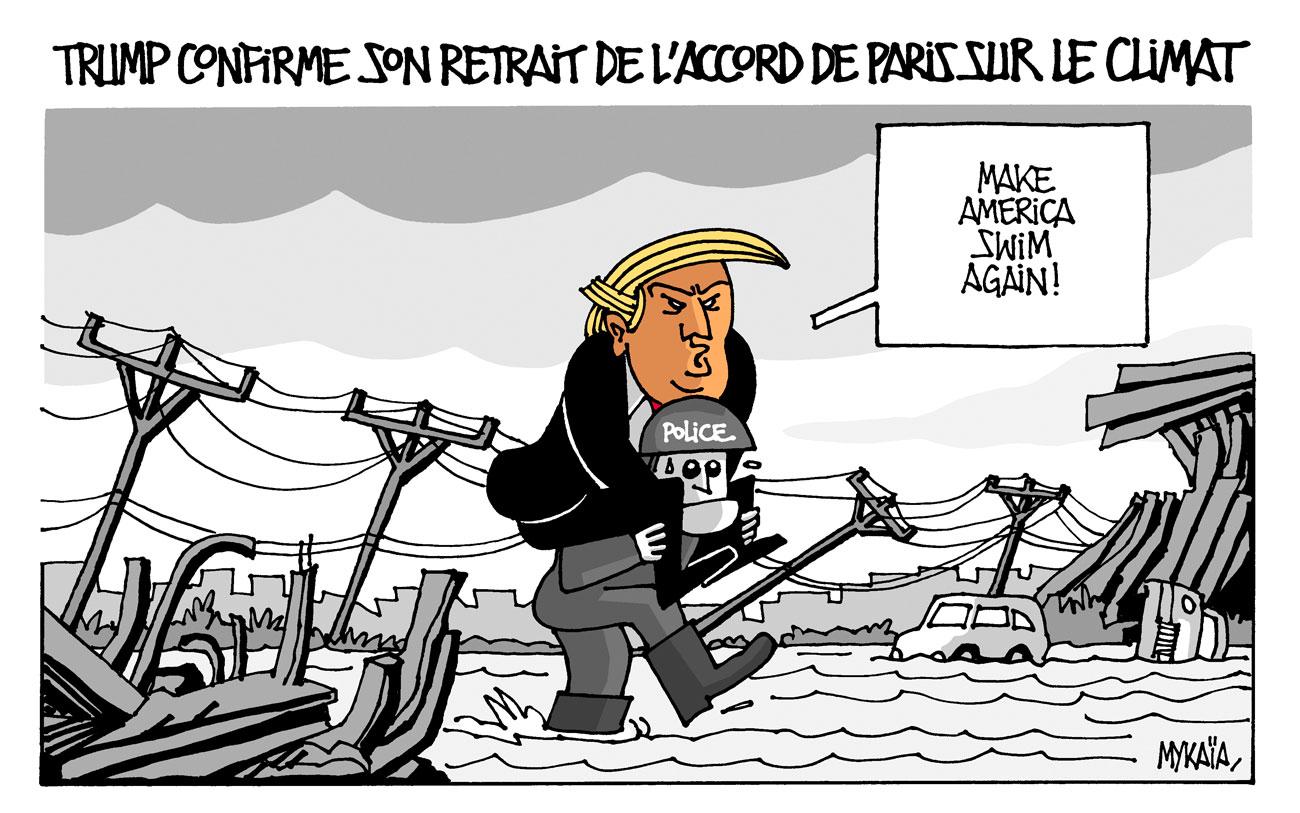 Donald Trump confirme son retrait de l'accord de Paris sur le climat