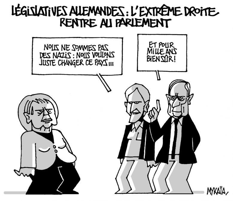 L'extrême droite au Parlement Allemand
