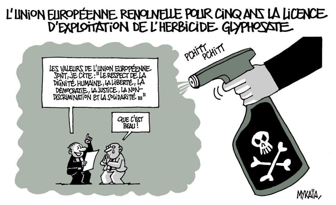 L'Union Européenne renouvelle pour cinq ans la licence d'exploitation de l'herbicide glyphosate