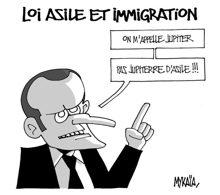 Loi asile et immigration
