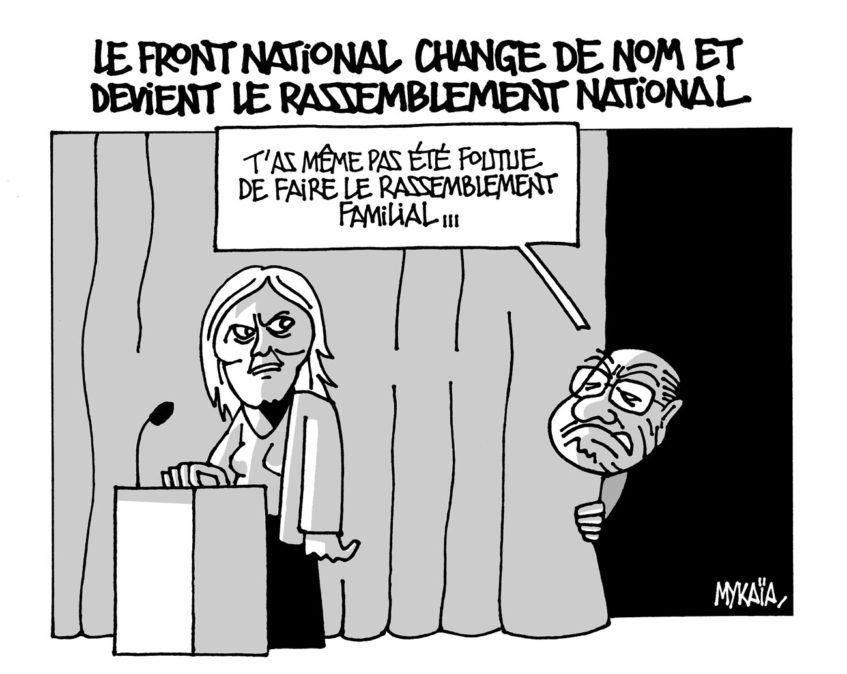 Le FN change de nom