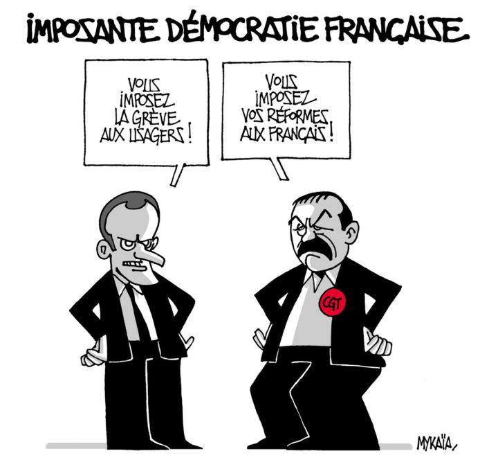 Imposante démocratie française