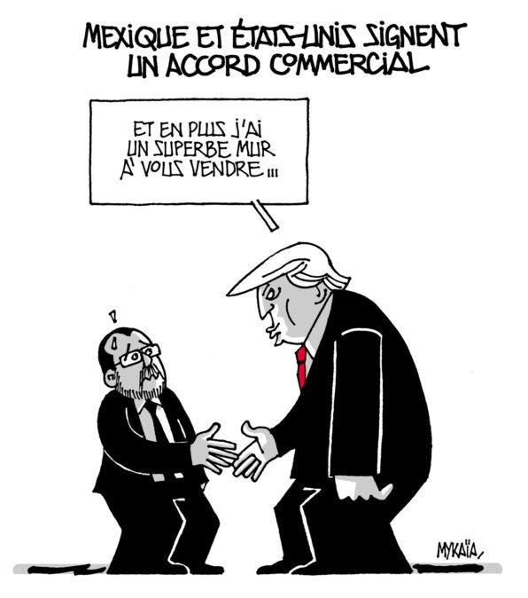 Mexique et États-Unis signent un accord commercial