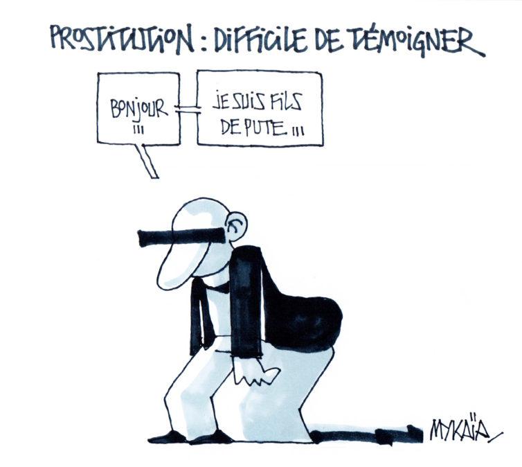 Prostitution : difficile de témoigner