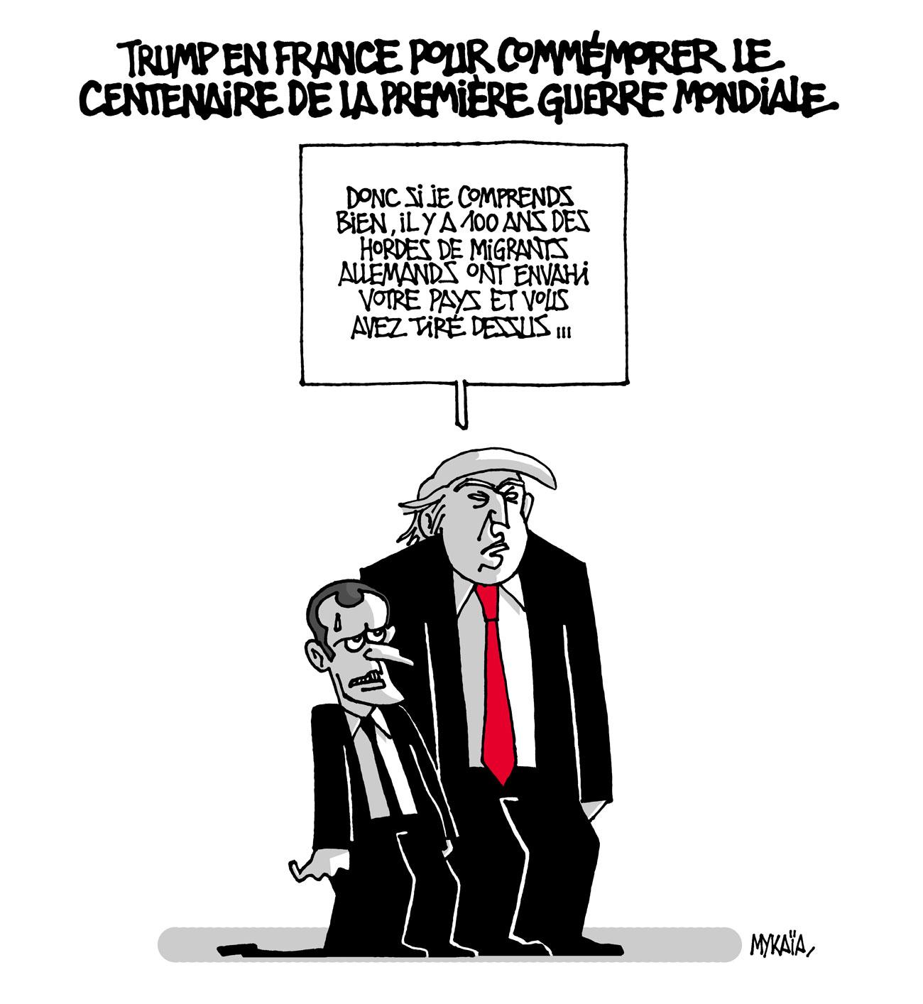 Donald Trump en France pour commémorer le centenaire de la première guerre mondiale
