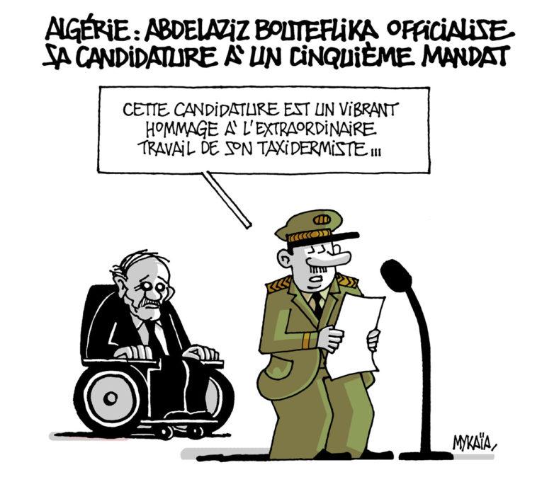 Bouteflika encore candidat