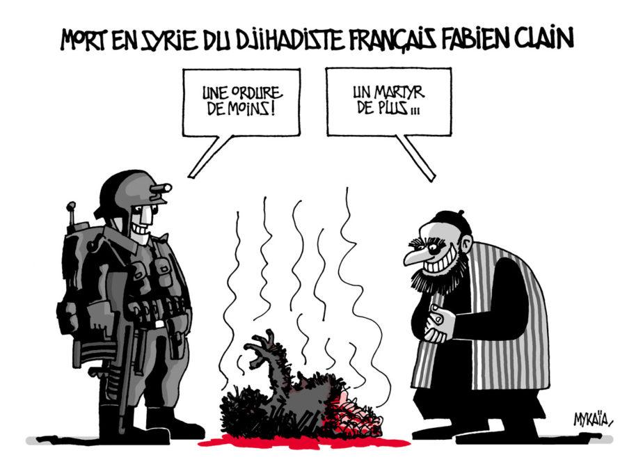 Mort du djihadiste français Fabien Clain en Syrie