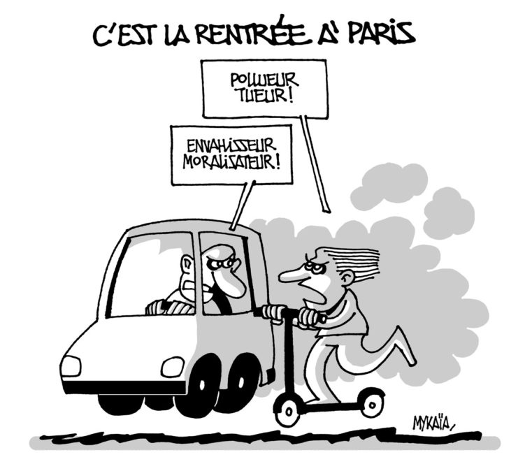 Rentrée à Paris