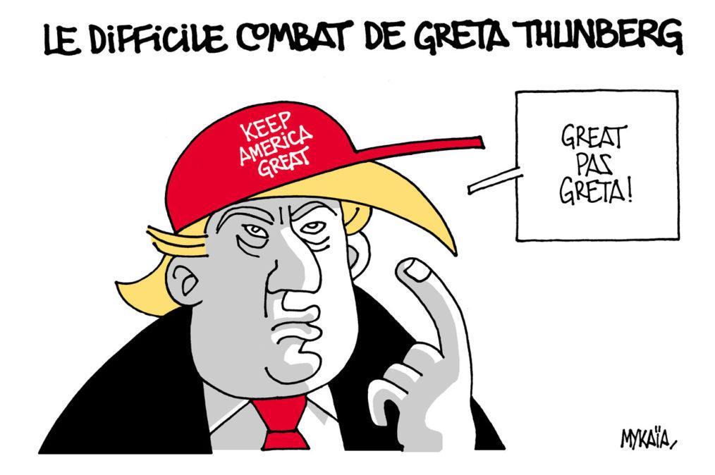Greta vs Donald