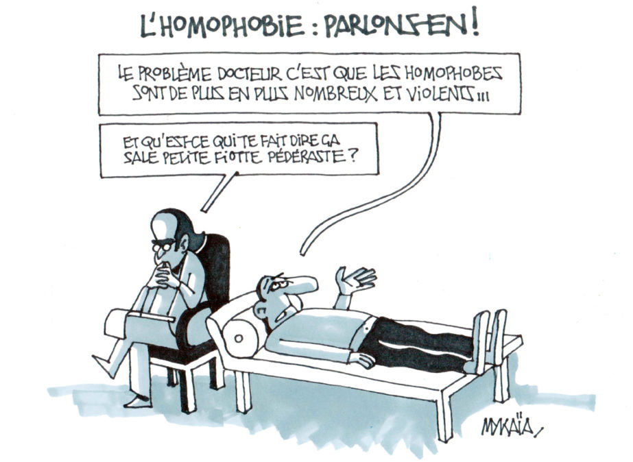 Homophobie : ça se soigne, Docteur ?