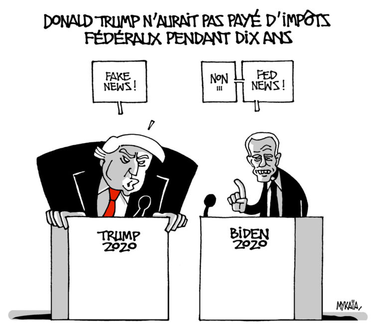 Donald trompe les impôts