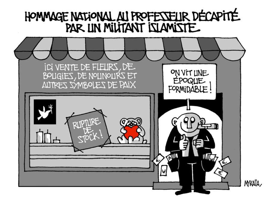 Hommage national au professeur décapité