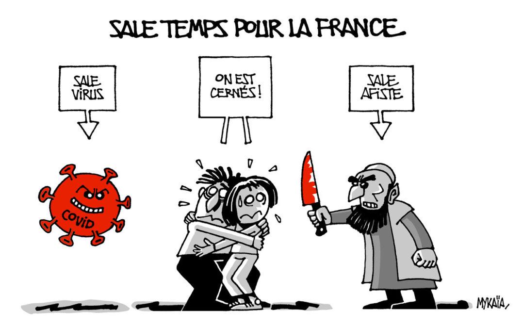 Sale temps pour la France