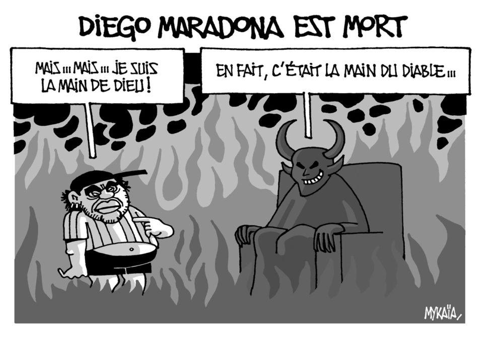 Diego Maradona est mort