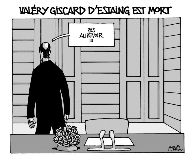 Valéry Giscard d'Estaing est mort