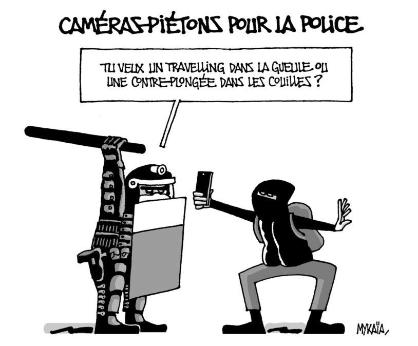 Caméras-piétons pour la police