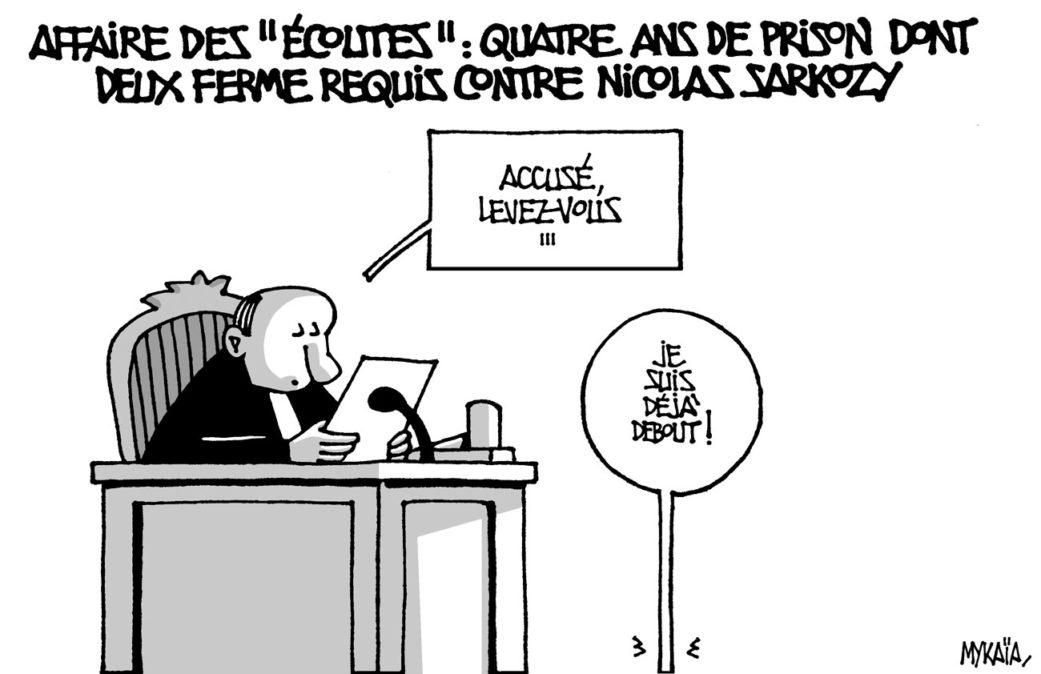 Quatre ans de prison dont deux ferme requis contre Sarkozy