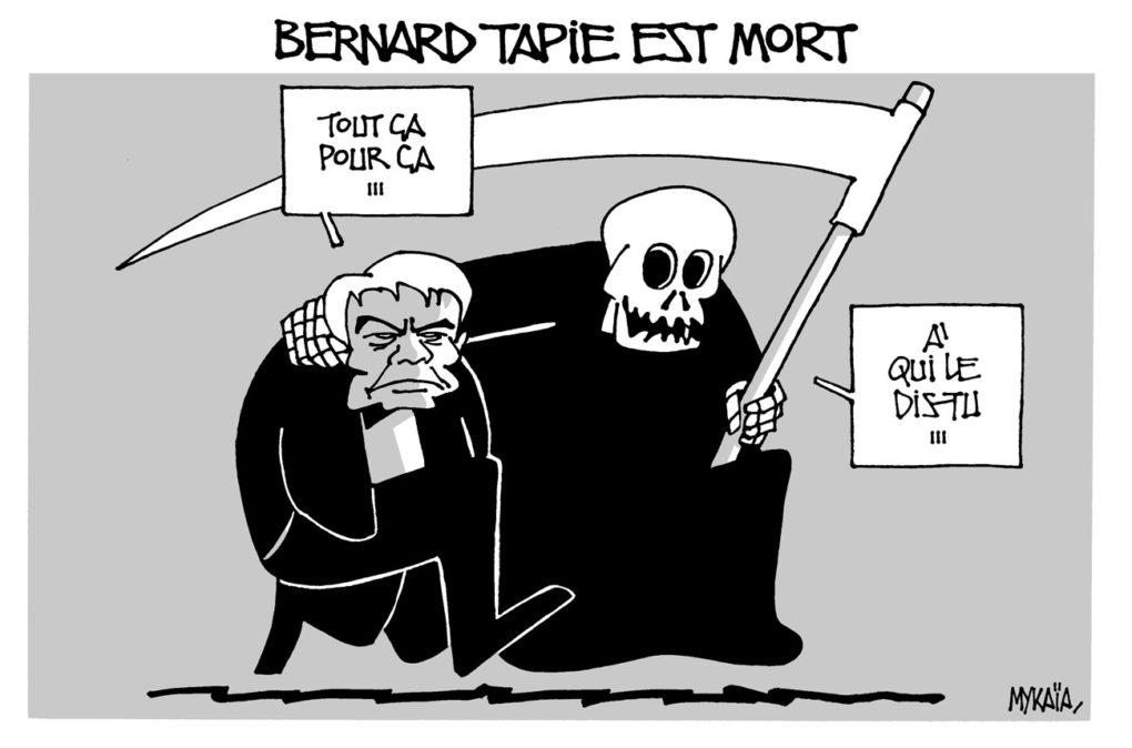 Bernard Tapie est mort