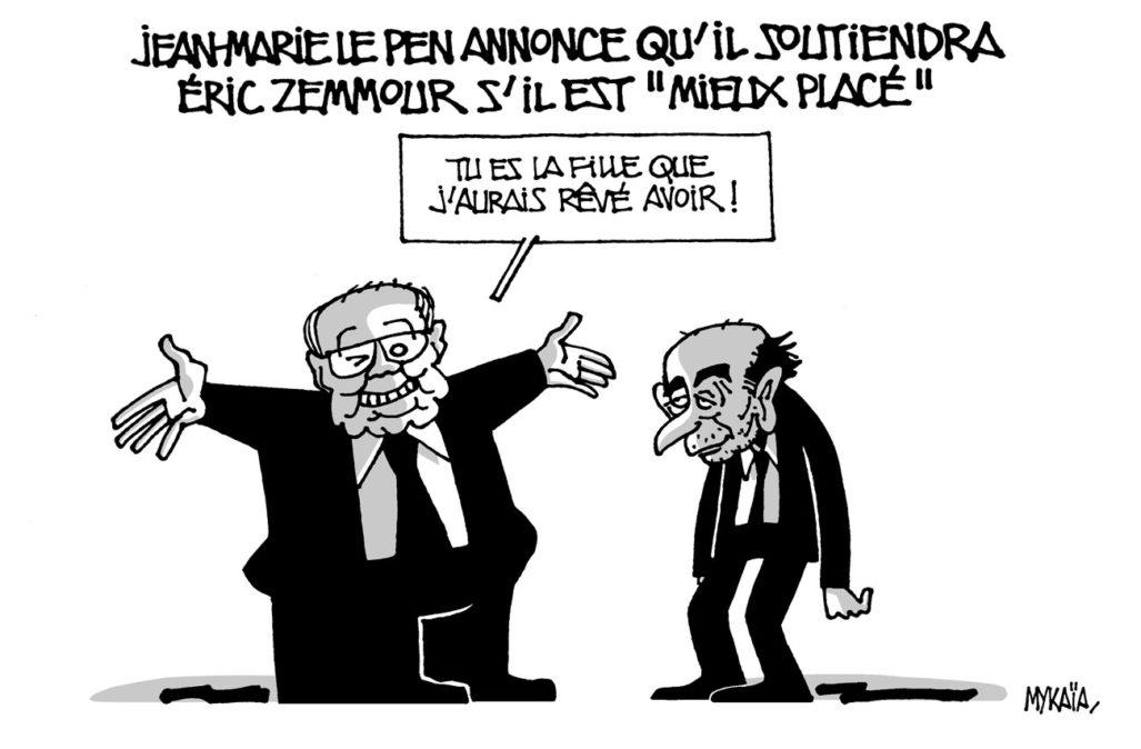 Le Pen et Zemmour