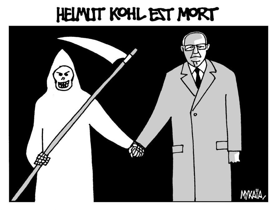 Helmut Kohl est mort