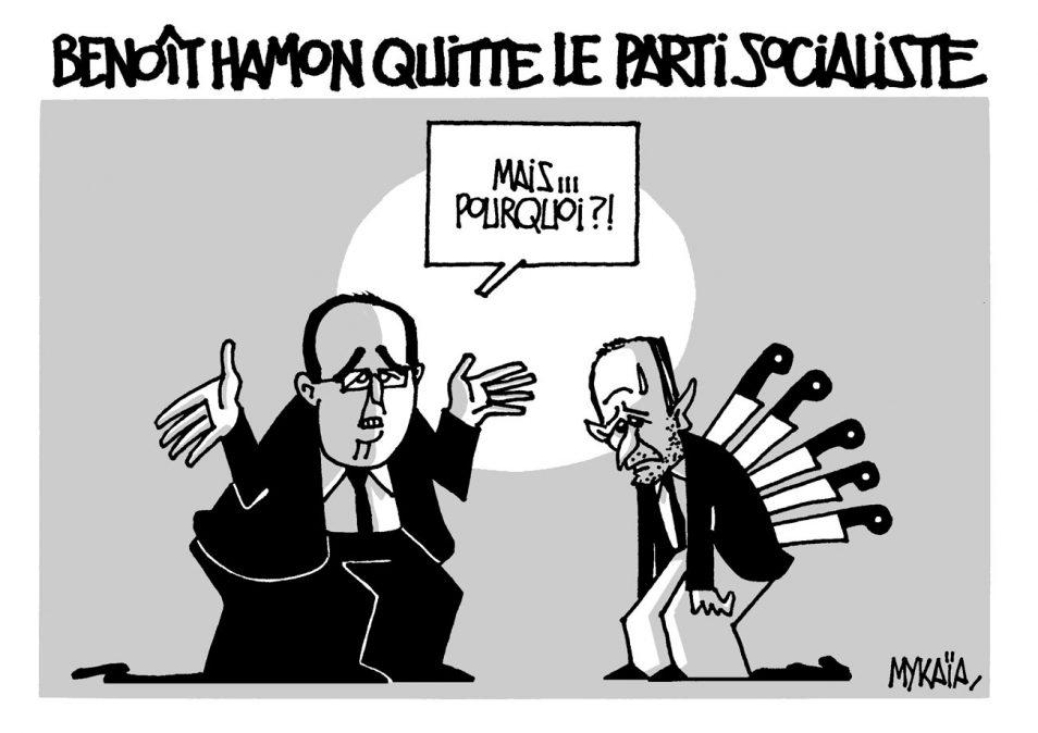 Benoît Hamon quitte le parti socialiste