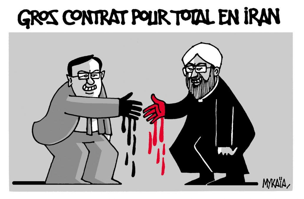 GROS CONTRAT POUR TOTAL EN IRAN