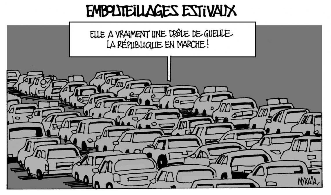 Embouteillages estivaux