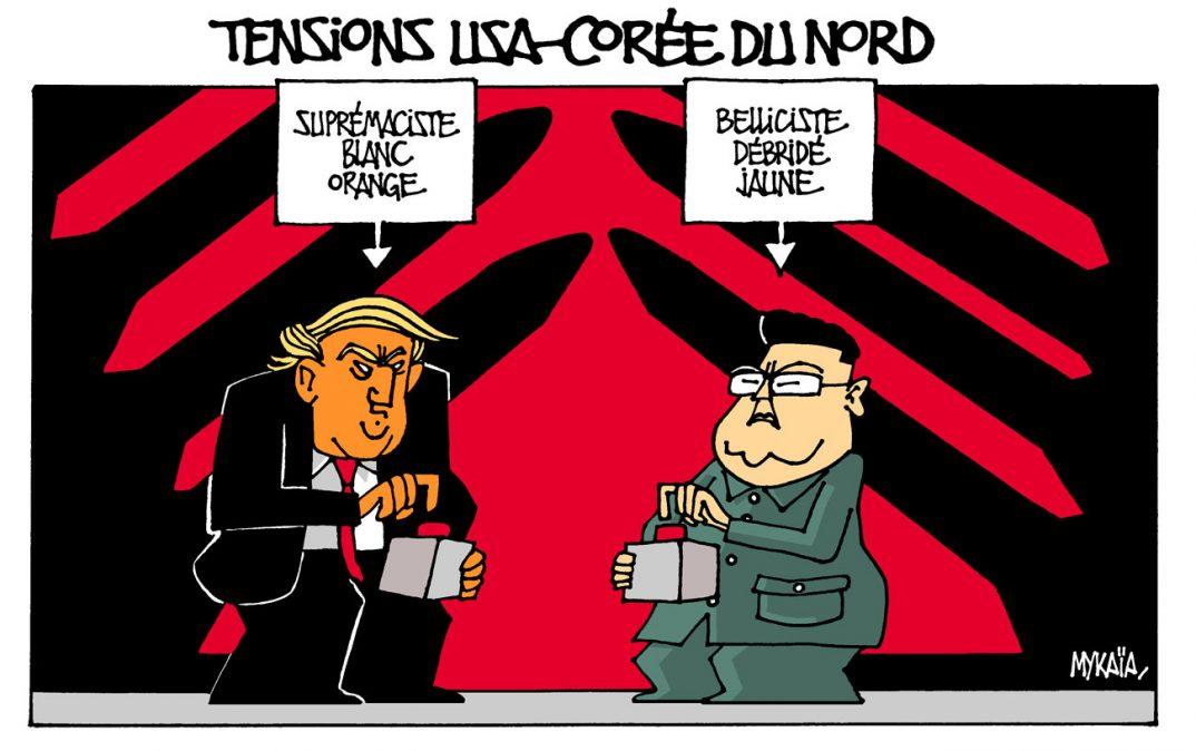 Tensions USA-Corée du Nord