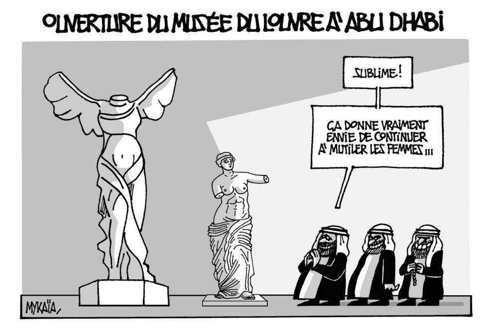 Ouverture du musée du Louvre à Abu dhabi