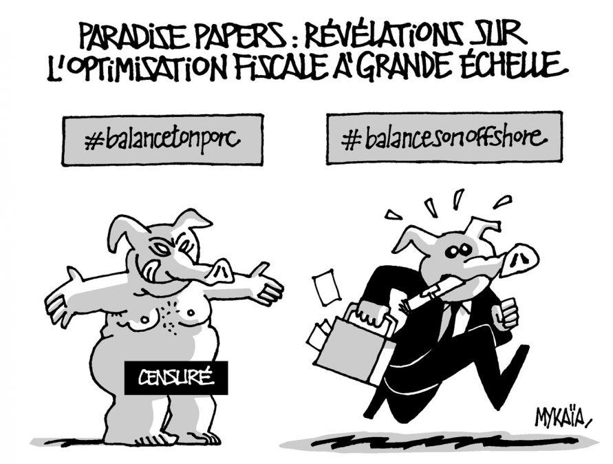 Paradis Papers : révélations sur l'optimisation fiscale à grande échelle.