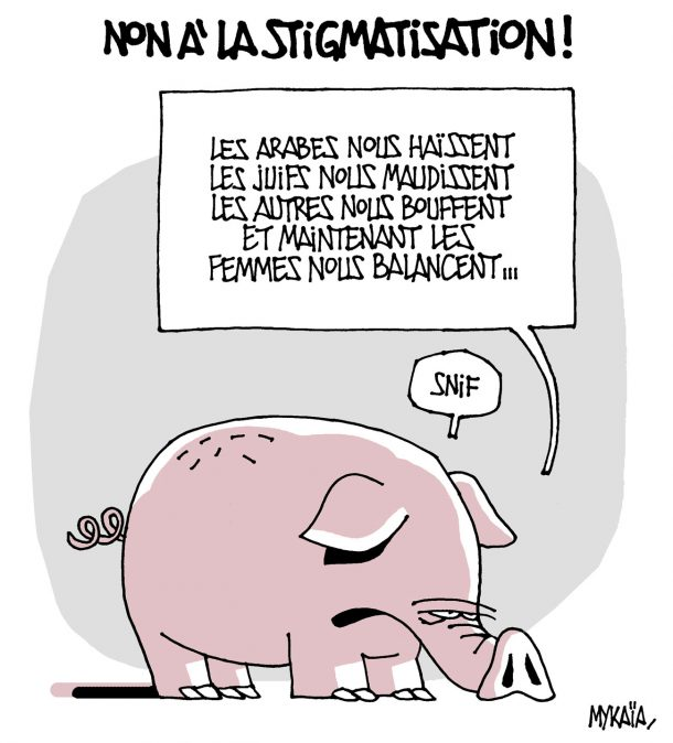 Non à la stigmatisation !