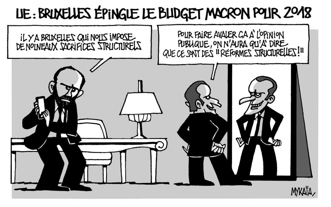 UE : Bruxelles épingle le budget Macron pour 2018