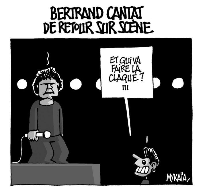Bertrand Cantat de retour sur scène