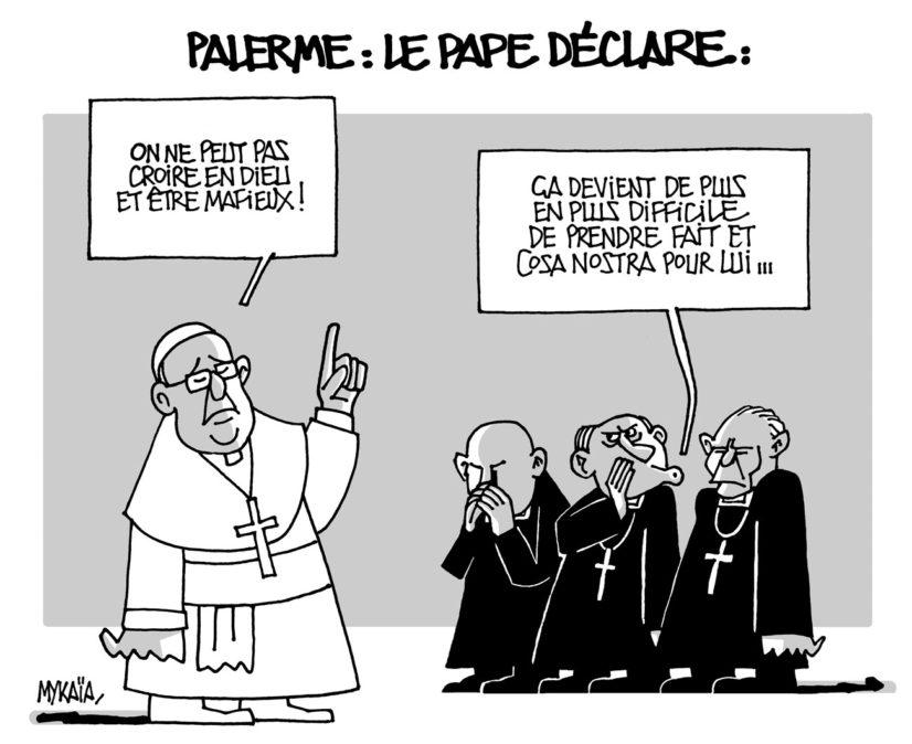 Déclaration du Pape François à Palerme