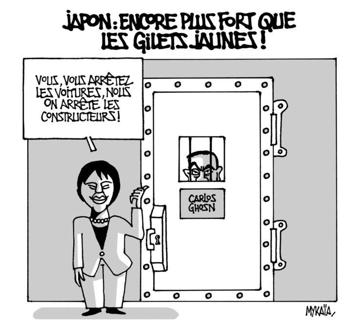Carlos Ghosn en garde à vue au Japon