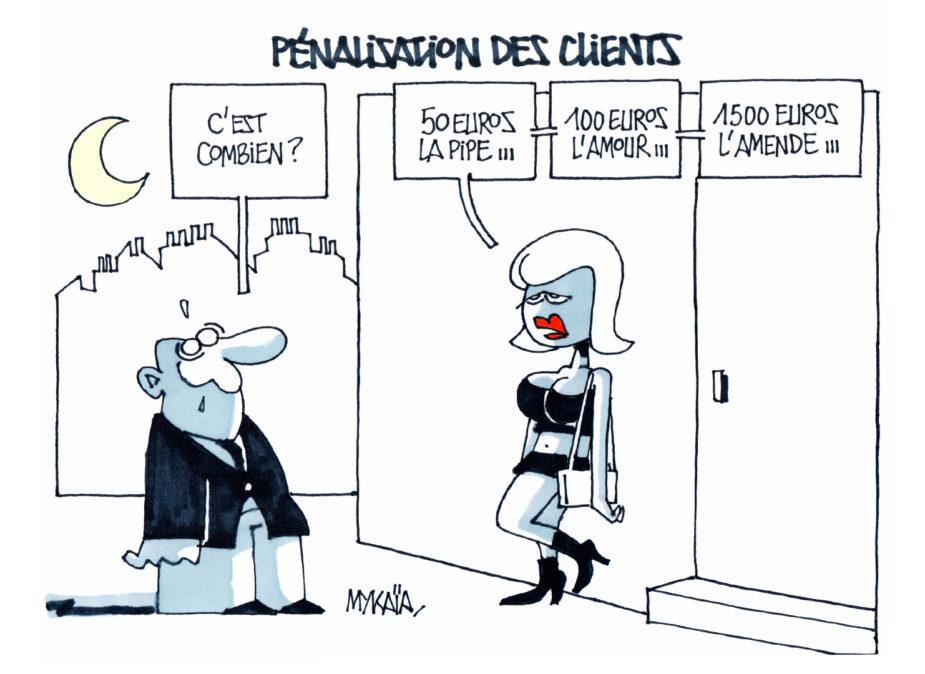 Prostitution : pénalisation des clients