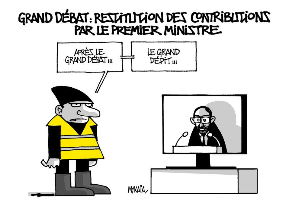 Restitution grand débat