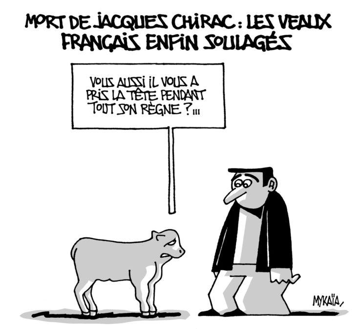 Mort de Jacques Chirac : les veaux français enfin soulagés