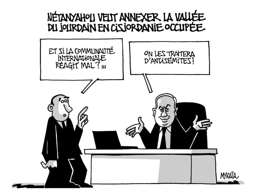 Netanyahou veut annexer la vallée du Jourdain