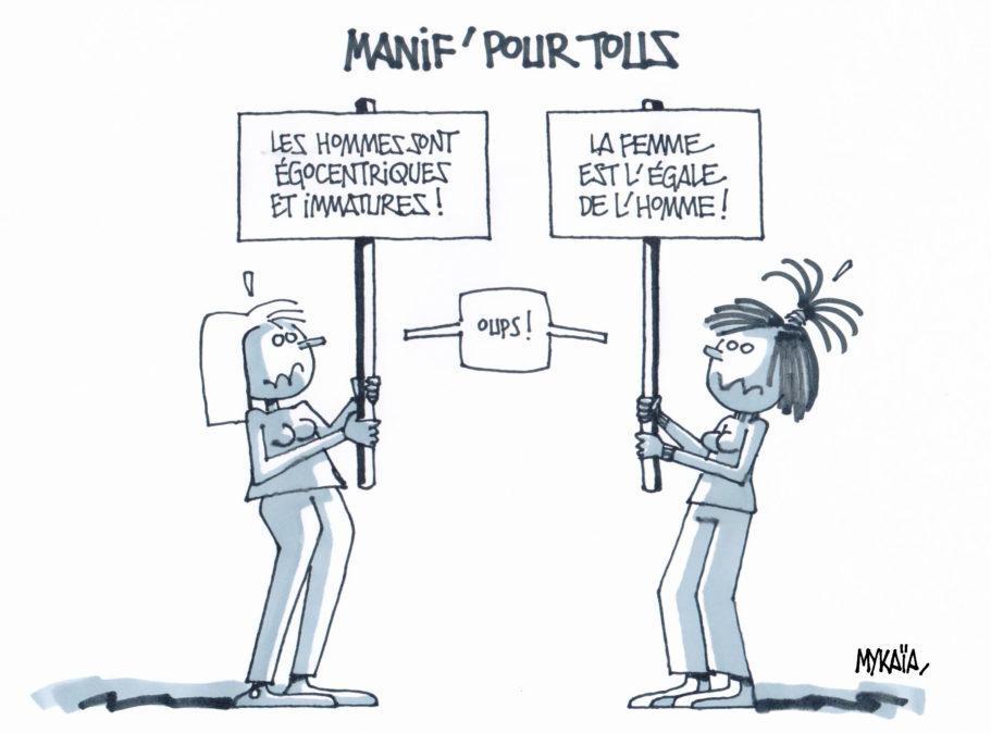 Égalité femmes-hommes, c'est pas gagné !