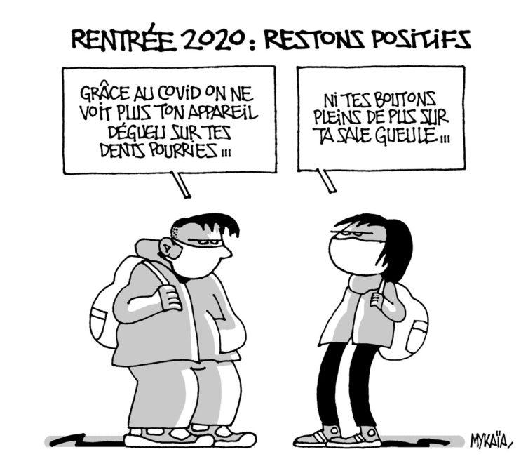 Rentrée 2020 : restons positifs !