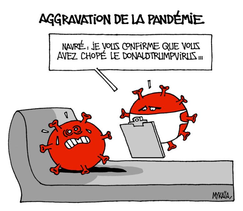 Aggravation de la pandémie