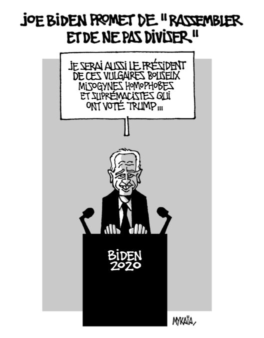 "Joe Biden promet de ""rassembler et de ne pas diviser"""