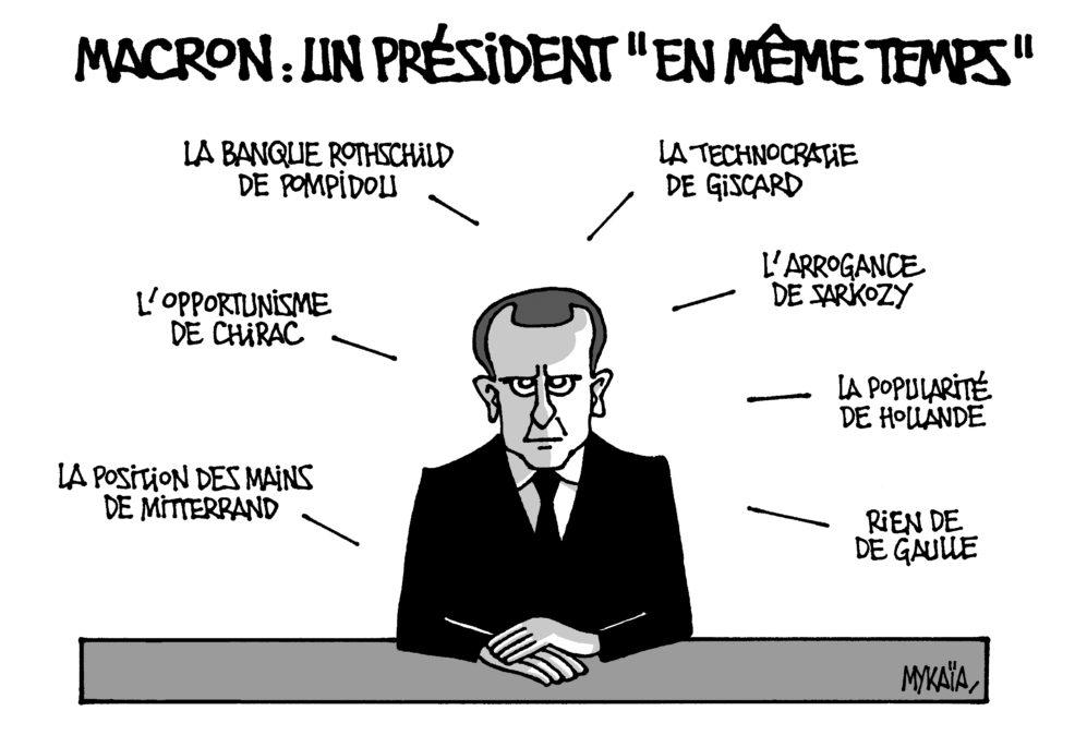 """Macron : un président """"en même temps"""""""