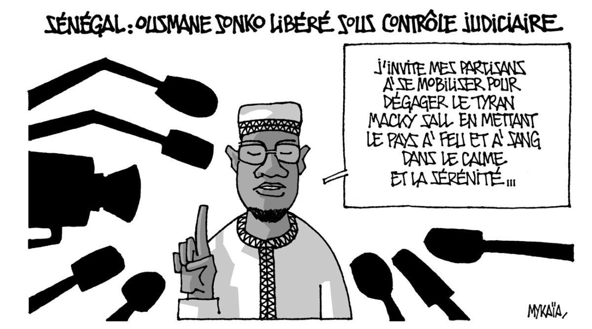 Sénégal : Ousmane Sonko libéré sous contrôle judiciaire