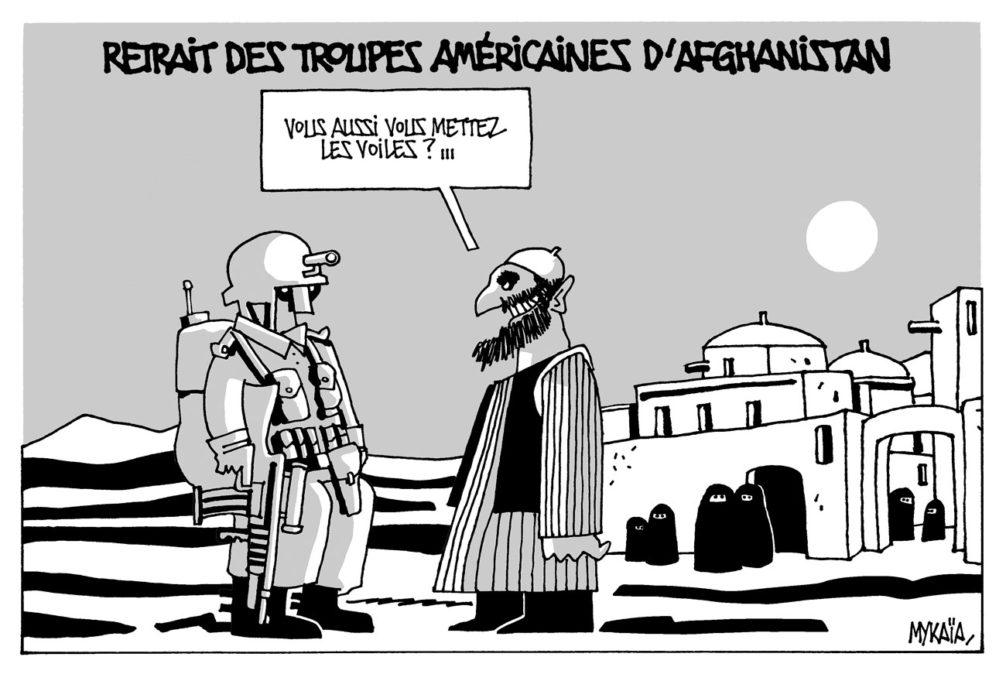 Retrait des troupes américaines d'Afghanistan