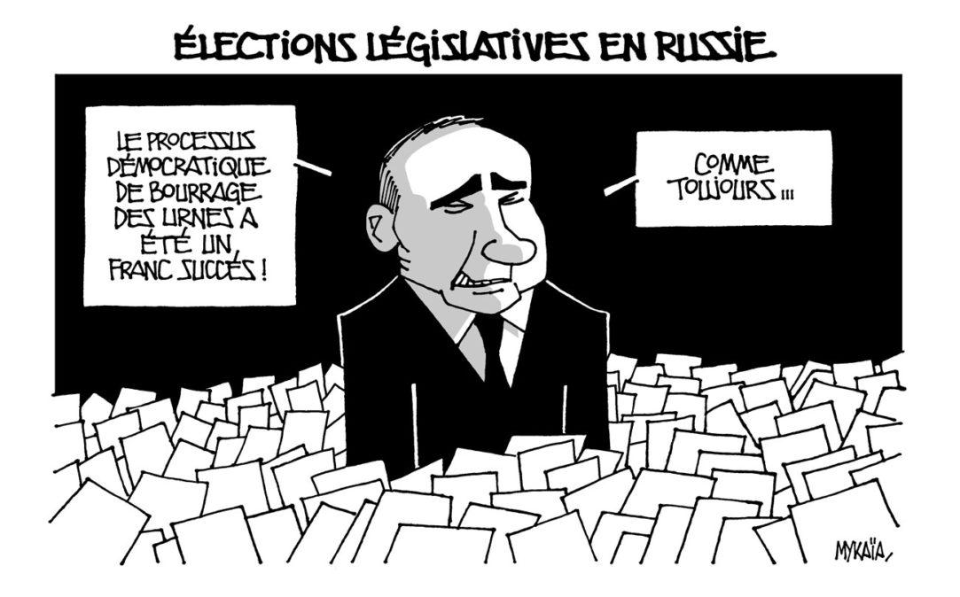 Élections législatives en Russie